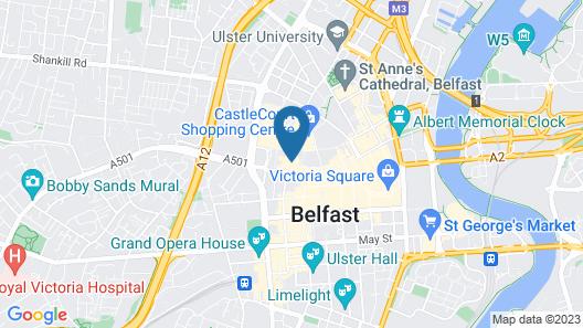 Dream Apartments Pods Map