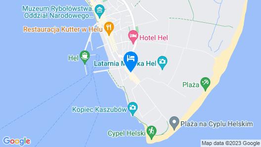 Apartamenty Sun & Snow Cypel Helski Map