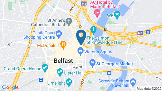 Bullitt Hotel Map