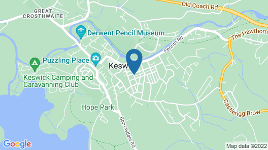 Dalkeith Guest House Map