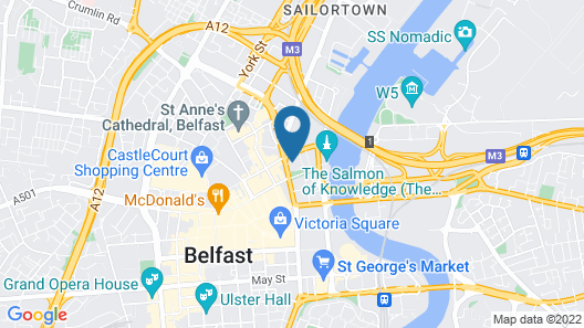 Custom House Square: Cathedral Quarter Map