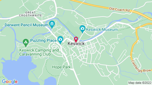 Keswick Park Hotel Map