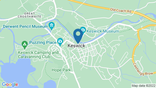 Keswick Country House Hotel Map