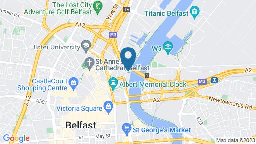Dream Apartments - The Obel Building Map