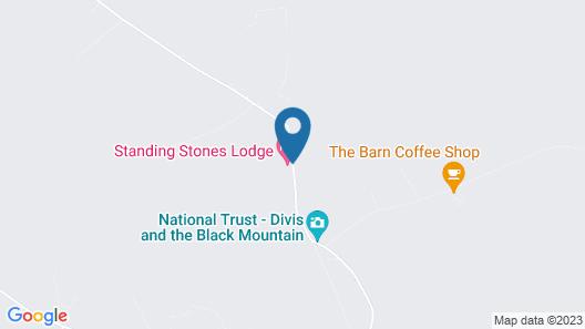Standing Stones Lodge Map