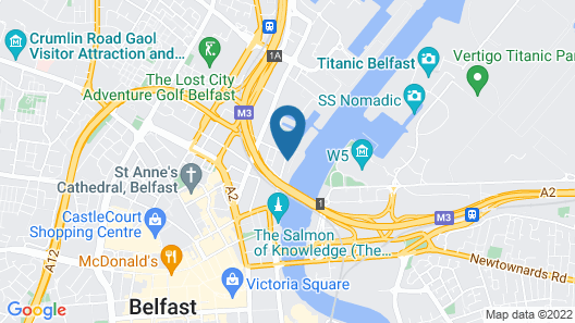 AC Hotels by Marriott Belfast Map