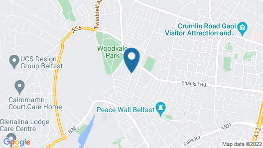 Belfast Town House Map
