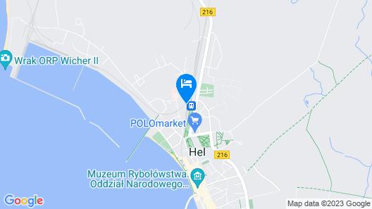 Hotel Hel Map