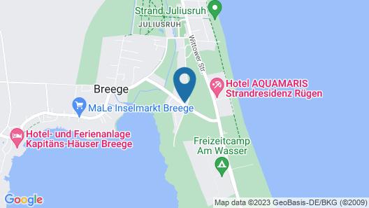 Hotel Windland Map