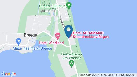 AQUAMARIS Strandresidenz Rügen Map