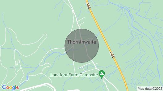 Talcomb Holiday Cottage In Thornthwaite Keswick Map