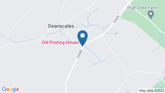 Old Posting House Map