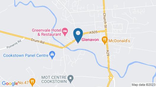 Glenavon House Hotel Map