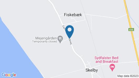 MejeriGaarden Bed and Breakfast Map