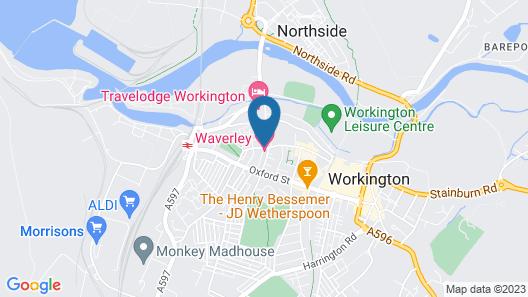 Waverley Hotel Map