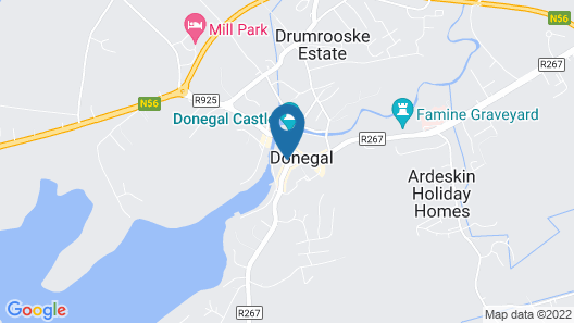 The Central Hotel Donegal Map