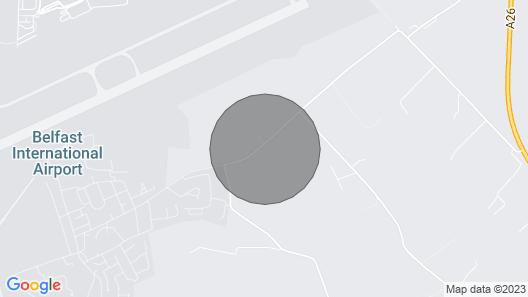 Killead House Apartment - near Belfast International Airport. Map