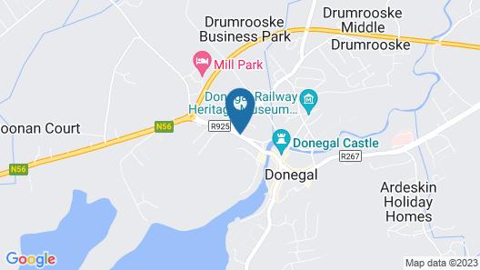 Gateway Lodge Donegal Map