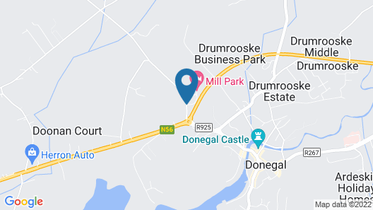Mill Park Hotel Map