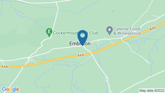 Embleton Spa Hotel Map