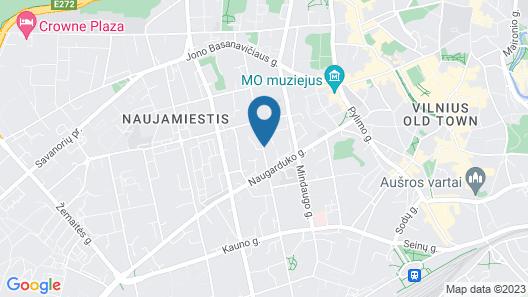 City Hotels Algirdas Map