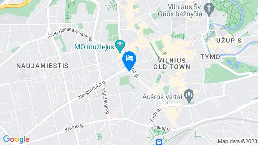 Rinno hotel Map