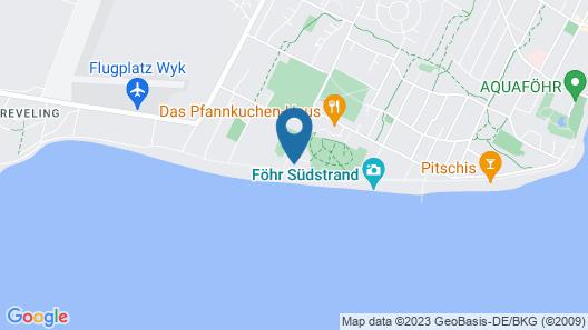 Haus Südstrand App. Strandläufer - 300091 Map