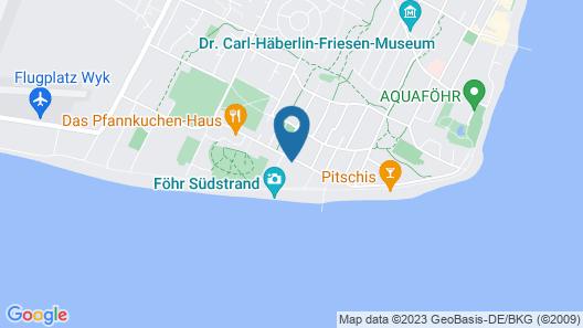 Upstalsboom Wellness Resort Südstrand Map