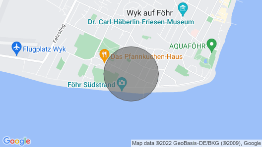 Palais am Südstrand Whg 9 Map
