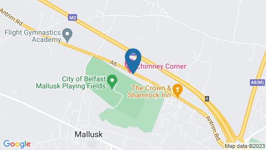 Chimney Corner Hotel  Map