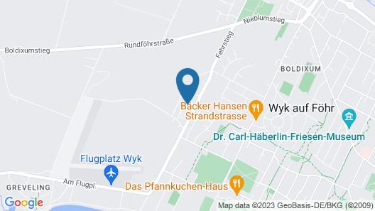 Gästehaus Levsen Whg. Backbord Map