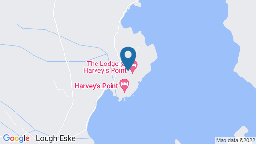 The Lodge at Harvey's Point Map