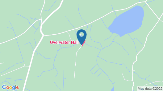 Overwater Hall Map