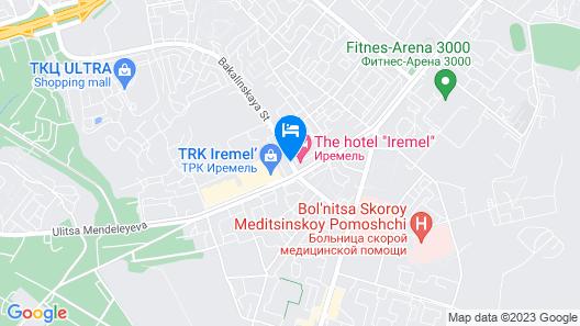 Iremel Hotel Map