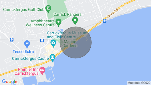 Ahoy2 Apartment Carrickfergus (Safe, Sanitized and Super-comfy with Sea-views!) Map