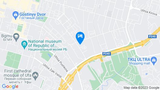 Azbuka Apartment Kommunisticheskaya 107 Map