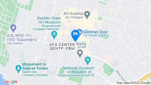 Deluxe Azbuka apartment in Gostiny Dvor Map