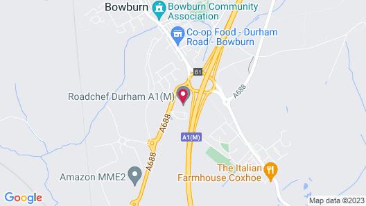 Days Inn by Wyndham Durham Map