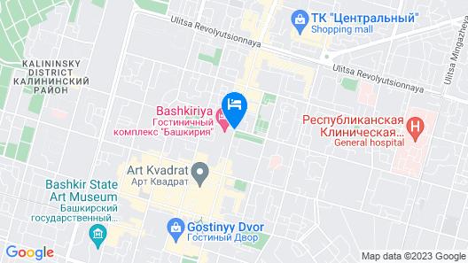 AZIMUT Hotel Ufa Map