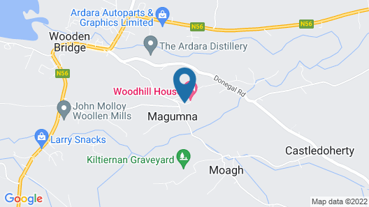 Woodhill House Map