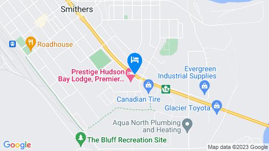 Prestige Hudson Bay Lodge Map