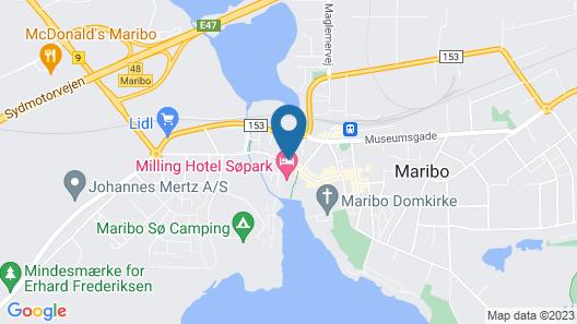 Ebsens Hotel Map
