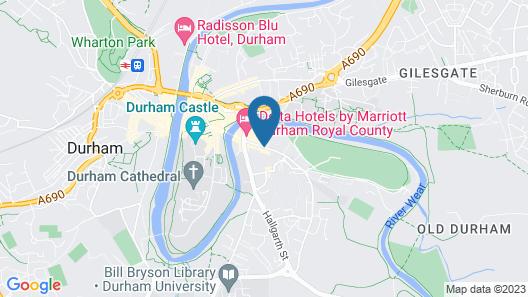 Hotel Indigo Durham Map