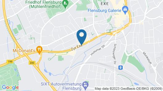 Hostel Flensburg Map