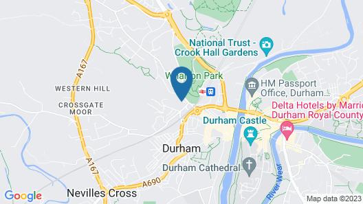 Popup Durham Map