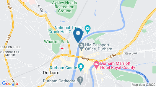 Radisson BLU Hotel Durham Map