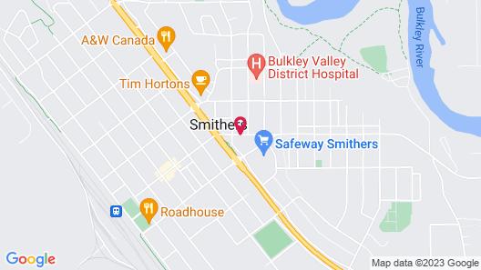 Stork Nest Inn Map