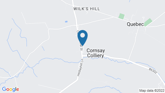 Colliery Cottage Map