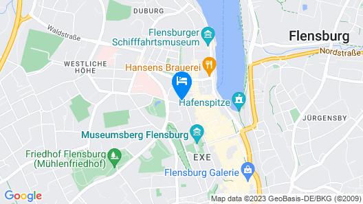 Zimmer FREI! Boardinghouse Map