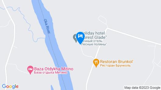 Forest estate Lesnye Polyany Map
